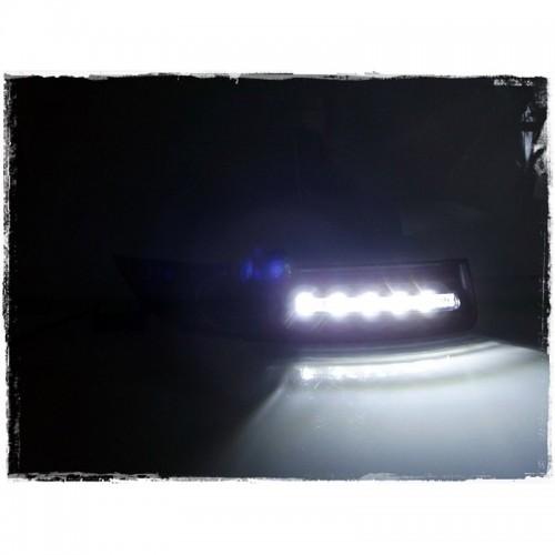 Штатные ДХО-DRL в ПТФ VW PASSAT B6