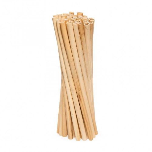 Пшеничные трубочки для напитков 20 см 100 шт